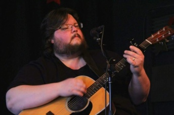 Ryan Hearn playing guitar