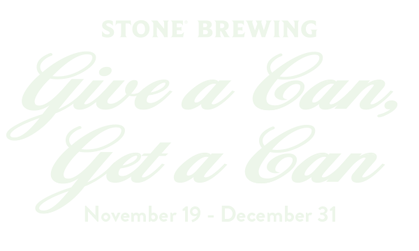 Stone Give a Can, Get a Can Holiday Food Drive