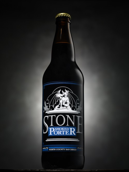Stone Smoked Porter bottle