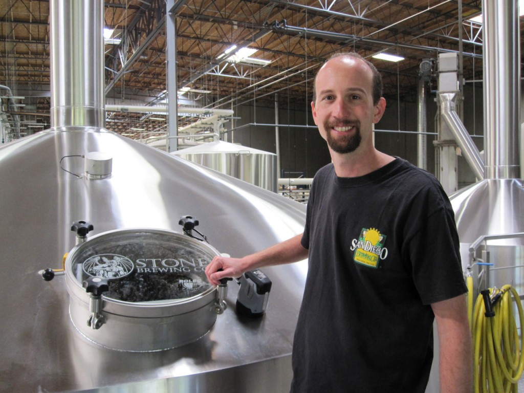 Brewhouse Supervisor Jeremy Moynier