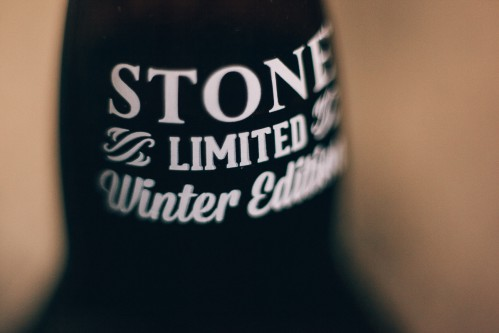 Limited Winter Edition Label