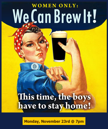 Women Only: We Can Brew It