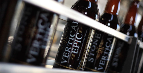 Bottles of Vertical Epic Ale