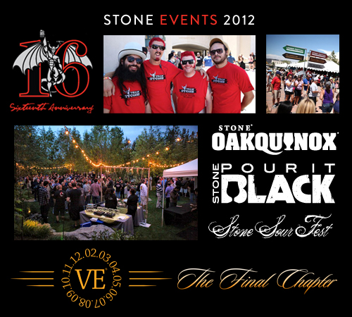 collage of 2012 events
