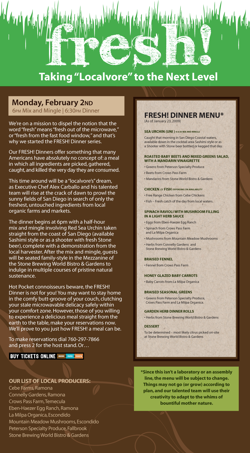 Click to view the menu, make reservations, and get more information