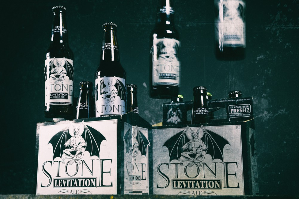 Stone Levitation Amber Ale is levitating off shelves forever