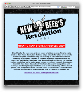 Check out our New Beers Revolution web page