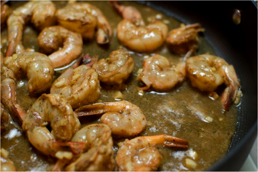 more sauteed shrimp