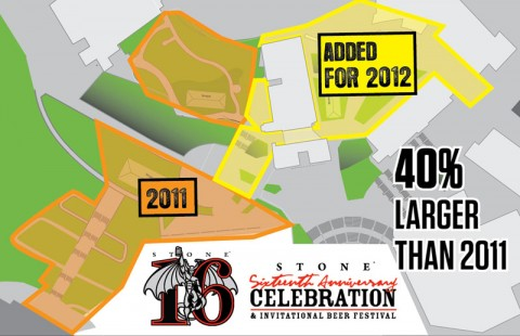 Overview: Stone 16th Anniversary Celebration & Invitational Beer Festival