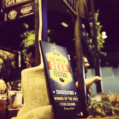 2012 GABF Festival Flair Award Winner