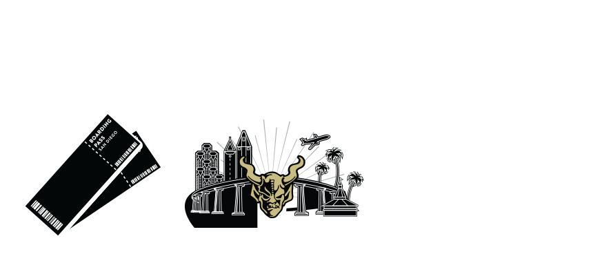 Round-trip airfare for two people, 4 days and three nights stay in san diego, and a premium all-access tour of stone brewing escondido and liberty station