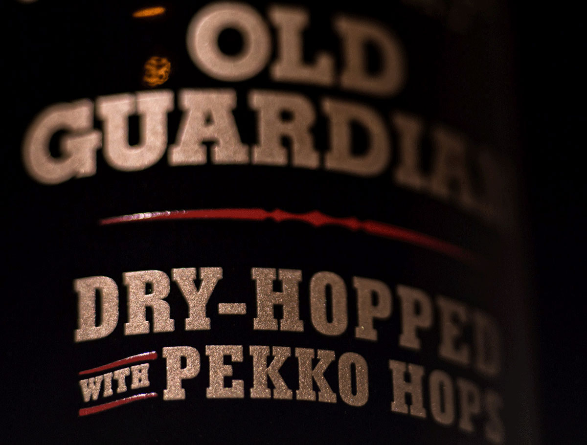 2016 Stone Old Guardian Barley Wine Dry-Hopped with Pekko Hops