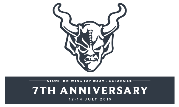 Stone brewing Tap Room - Oceanside 7th Anniversary