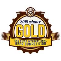 2019 Winner Gold San Diego International Beer Competition