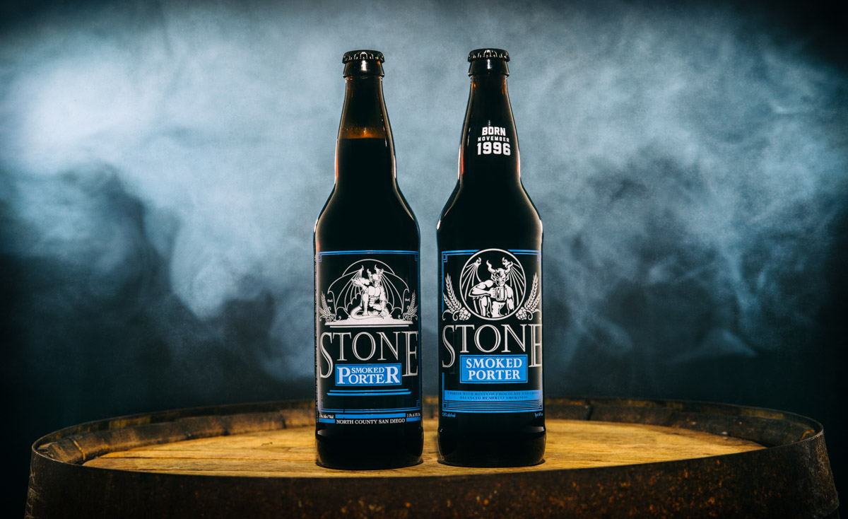 Smoked Porter Side by Side