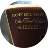 Stone vertical epic ale 12.12.12