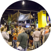Crowd outside GABF booth