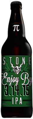 Stone Enjoy By 3.14.15 IPA bottle