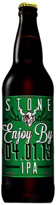 Stone Enjoy By 04.01.13 IPA bottle