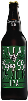 Stone Enjoy By 04.20.13 IPA bottle