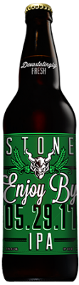 Stone Enjoy By 05.29.17 IPA bottle
