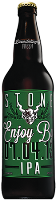 Stone Enjoy By 07.04.13 IPA bottle