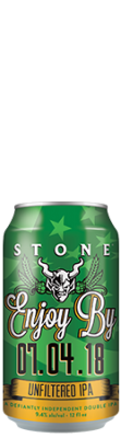 Stone Enjoy By 07.04.18 Unfiltered IPA