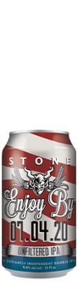 Stone Enjoy By 07.04.20 Unfiltered IPA can