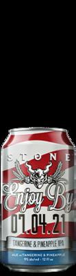 Stone Enjoy By 07.04.21 Tangerine & Pineapple IPA can