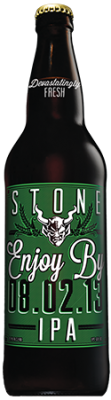 Stone Enjoy By 08.02.13 IPA bottle