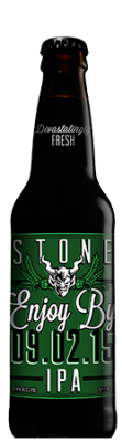 Stone Enjoy By 09.02.15 IPA bottle