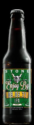 Stone Enjoy By 09.06.21 IPA bottle