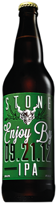 Stone Enjoy By 09.21.12 IPA bottle