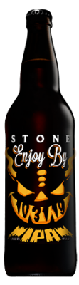 Stone Enjoy By 10.31.19 IPA bottle
