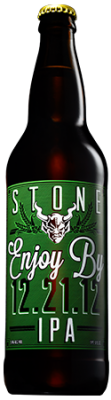 Stone Enjoy By 12.21.12 IPA bottle