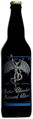 Stone 12th Anniversary Bitter Chocolate Oatmeal Stout bottle