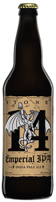 Stone 14th Anniversary Emperial IPA bottle