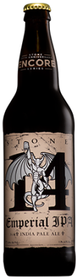 20th Anniversary Encore Series: Stone 14th Anniversary Emperial IPA bottle