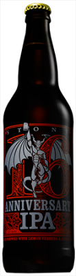 Stone 16th Anniversary IPA bottle