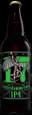 Stone 17th Anniversary Götterdämmerung IPA bottle
