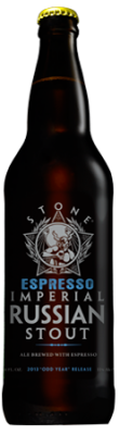 Stone ESPRESSO Imperial Russian Stout bottle