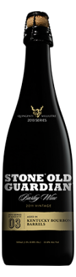 Stone Old Guardian Aged in Kentucky Bourbon Barrels
