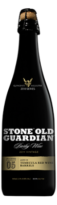 Stone Old Guardian Aged in Temecula Red Wine Barrels bottle