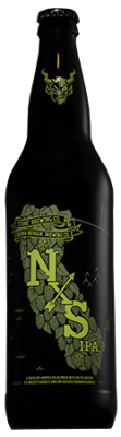 Stone & Sierra Nevada NxS IPA bottle