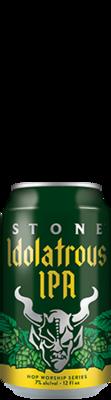 Stone Idolatrous IPA can
