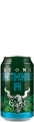 Stone Sanctimonious IPA can