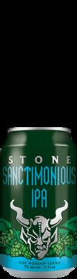 Stone Sanctimonious IPA can