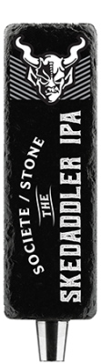 Societe / Stone The Skedaddler IPA Tap Handle