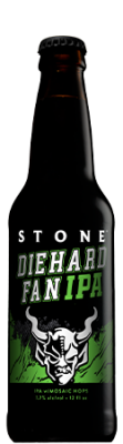 Stone Diehard Fan IPA bottle
