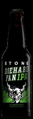 Stone Diehard Fan IPA bottle